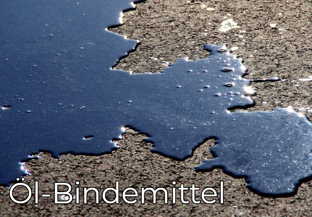 Öl-Bindemittel