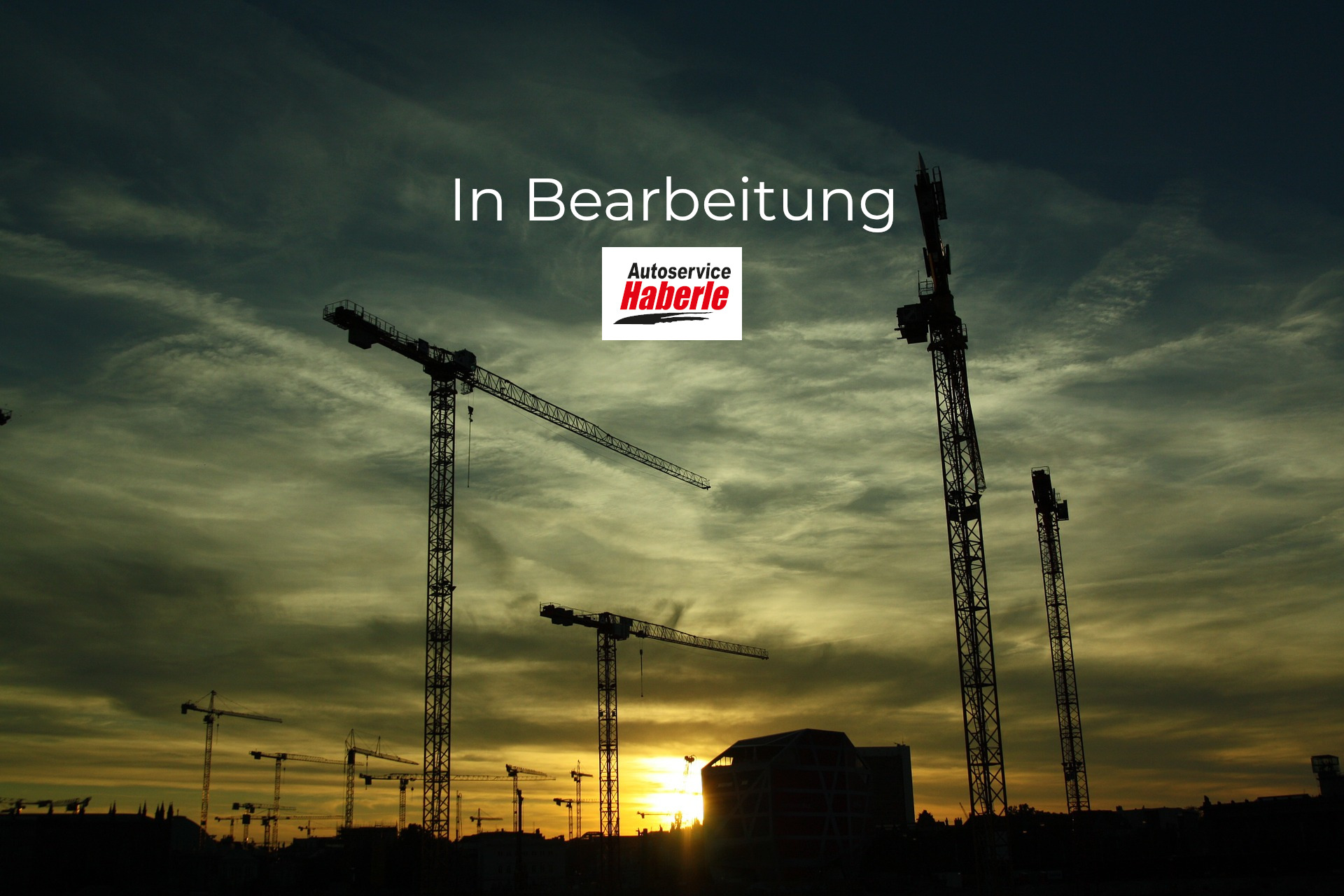 construction in Bearbeitung